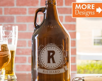Beer Gift, Custom Growler, Birthday Gift For Boyfriend, Personalized Growler, Engraved Growler, Beer Growler, Anniversary Gift