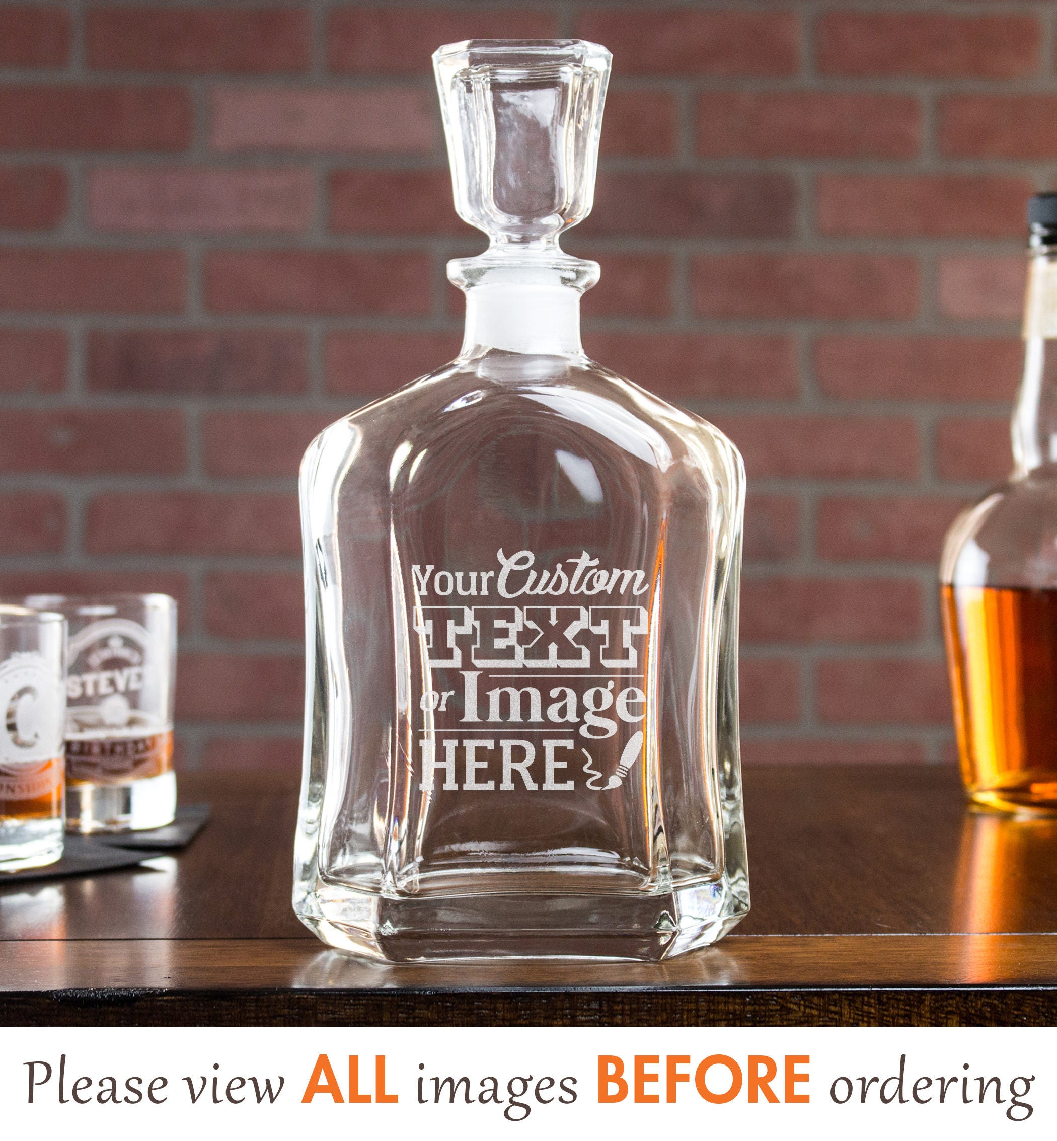 489d90332bc4 Whiskey Decanter, Custom Whiskey Decanter, Boss Gift, Personalized Whiskey  Decanter, Liquor Decanter, Retirement Gifts, Gift for Dad