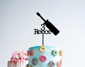 Hammer Cake Topper