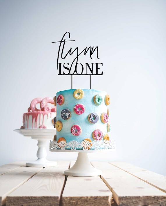 Fabulous Custom Personalised Is One Cake Topper First Birthday Cake Etsy Funny Birthday Cards Online Elaedamsfinfo