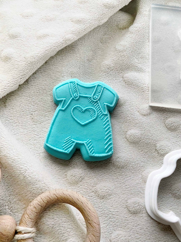 Baby Shower baby romper fondant stamp | Personalised fondant debosser | Cookie Embosser | Personalised Cookie Stamp | Nursery Newborn baby