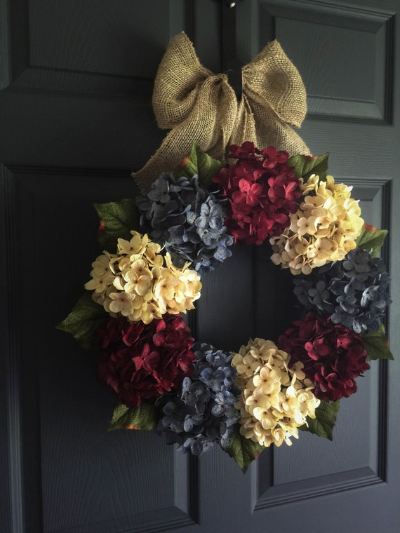 4th Of July Wreath Patriotic Wreath Americana Decor Etsy