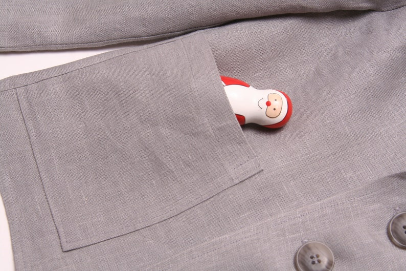 Natural linen jacket 686-9m-1409 White grey black tan Boy baby toddler formal wedding christening ring bearer occasional outfit
