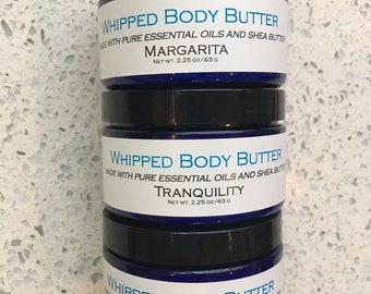 Body Butter, All Natural Whipped Shea Butter, Body Butter