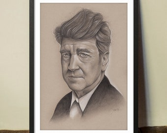 David Lynch Fine Art Print