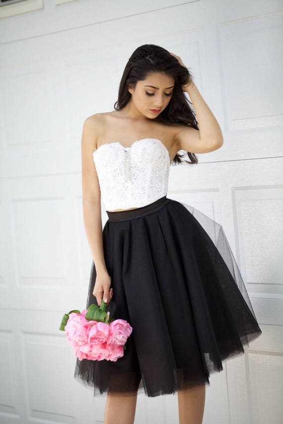 Tulle skirt, Black Tulle Skirt, Bridesmaid Skirt , Flower Girl Skirt, Petticoat, Gown, Wedding Skirt,Tulle skirt for women, Adult Tutu