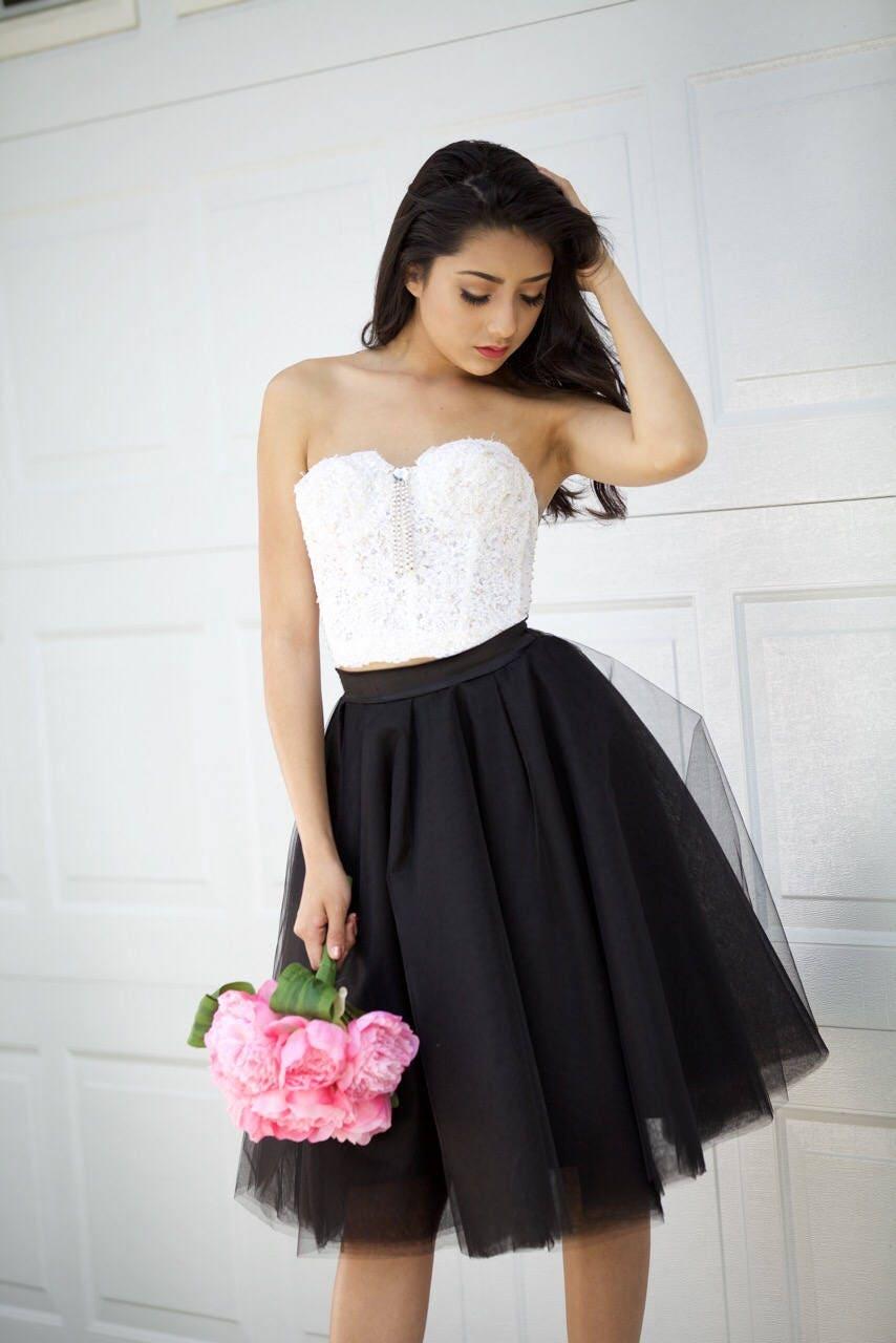 72a8199b2c Tulle skirt, Black Tulle Skirt, Bridesmaid Skirt , Flower Girl Skirt,  Petticoat, Gown, Wedding Skirt,Tulle skirt for women, Adult Tutu