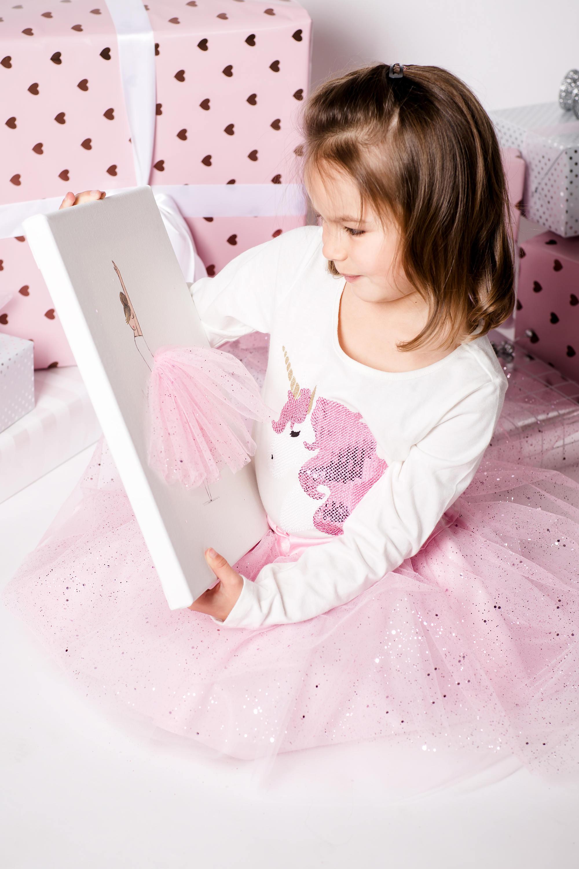 d3a04e6e3fc Glitter Confetti kids Tulle Skirt