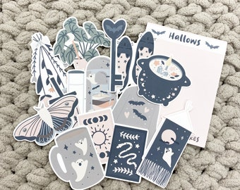 Hallows- Journaling Die Cut Sticker Flakes
