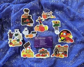 Peggy's Little Pumpkin- Sticker Pack