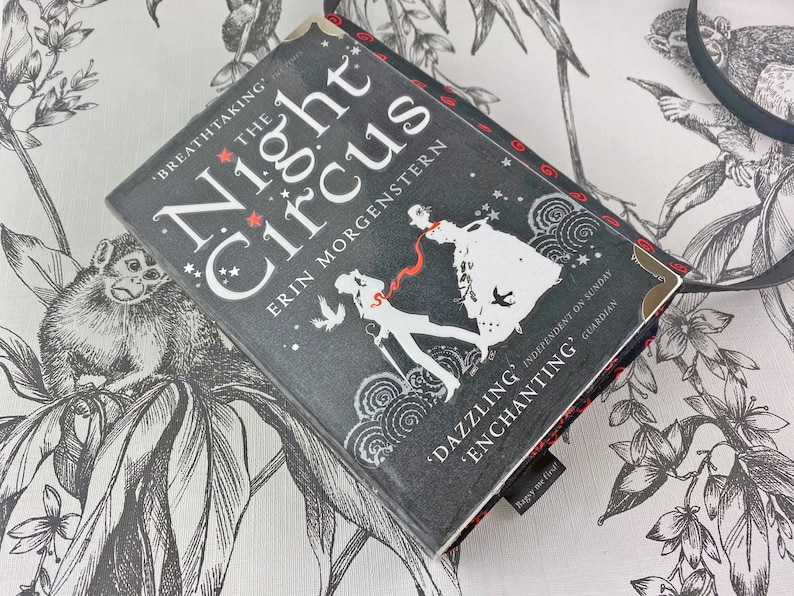 The Night Circus Book clutch Book purse Literary gift image 0