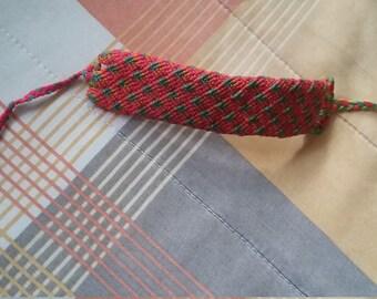 Beautiful Wax thread macrame bracelet