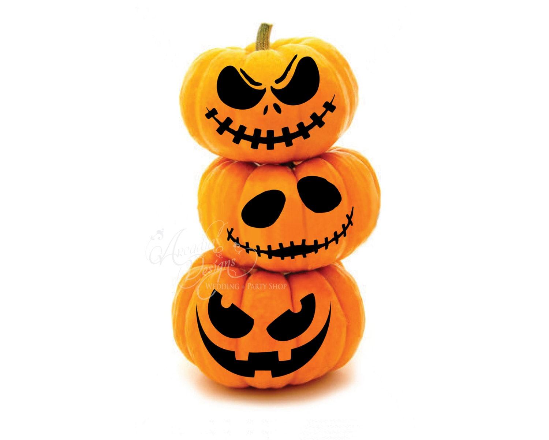 Shocking image within printable pumpkin carving