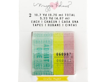 Chasing Dreams Washi Tape from Maggie Holmes - 2 Assorted Rolls