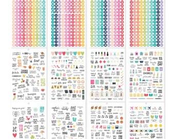 New! Carpe Diem A5 Calendar Sticker Tablet from Simple Stories