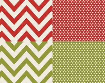 DIY Christmas Paper Pack from Simple Stories - 12 Sheets