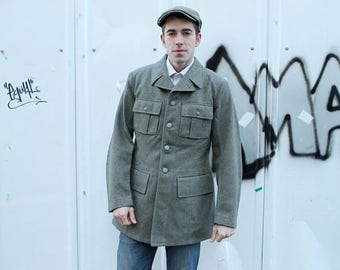 New Unissued Swedish wool army blazer coat field jacket 1950s 1940s military  dress jacket parade uniform 38e842496