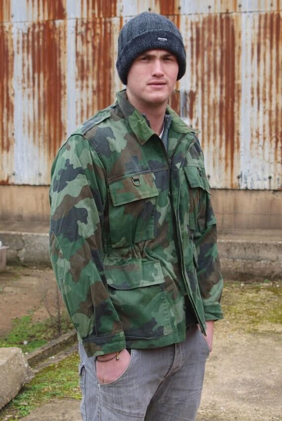 Authentische serbische jugoslawische Armee Feld Jacke Mantel | Etsy