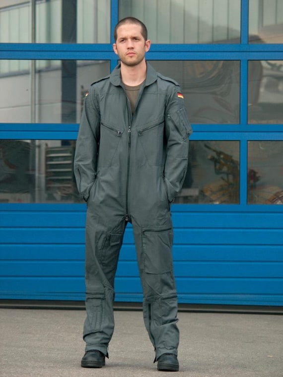 905a2b677b3 German army flight pilot suit coverall combi military airforce