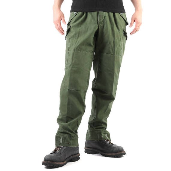 outlet sale newest new arrive New Swedish army M59 trousers green khaki pants military olive cargo combat  Unissued