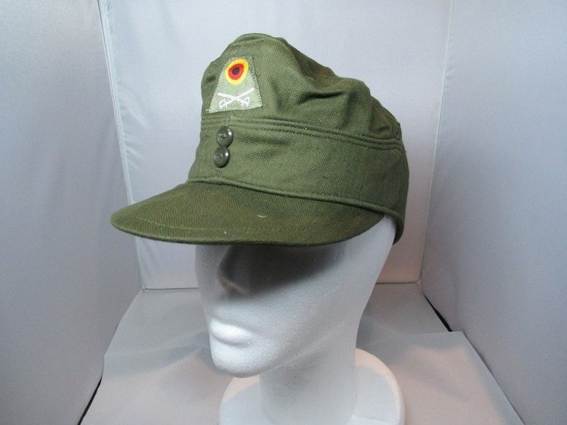 b18179a538238 New German army moleskin cadet cap military hat bundeswehr