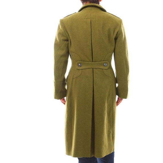 Genuine Austrian Army Grey Officers Raincoat Waterproof Trench Coat