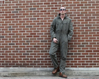 German army tanker jump suit coverall combi overall military Bundeswehr boiler