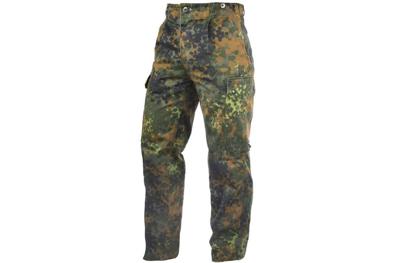 46d2775c6f1e8 German army camouflage combat trousers cargo pants bottoms | Etsy