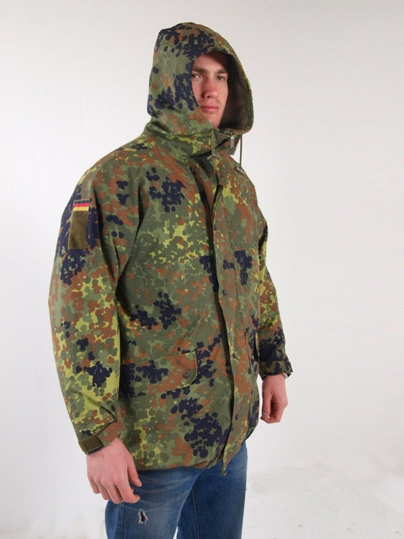 German Army Goretex  waterproof Parka military coa