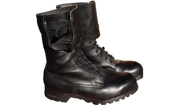 Vintage Czech army M60 boots Black