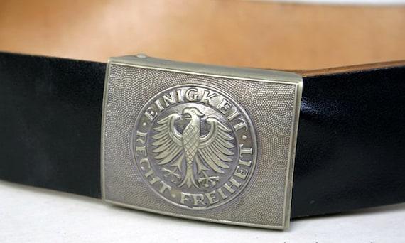 non utilisé-plus de 30 ans GUERRE FROIDE-Orient Armée Allemande Casquette NVA DDR RDA-authentique