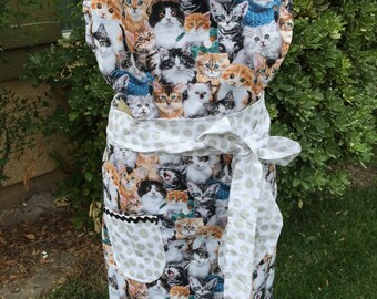 Cats, Cats full Womens Apron