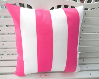 Pink Outdoor Pillows Etsy
