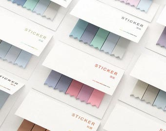 Pastel Pantone Color Post-It Sticky Notes