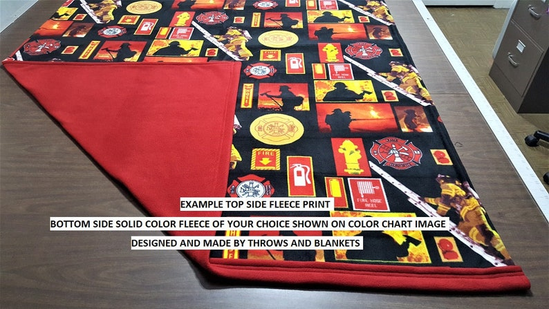 MADE TO ORDER Extra Large Throw sizes 56 x 62 or 56 x 86 Item # 397