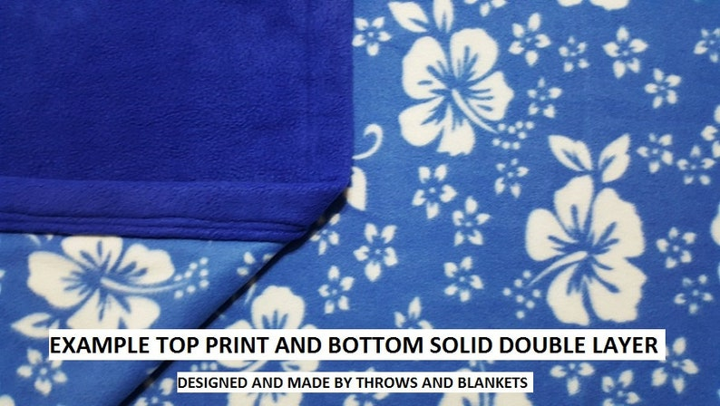 MADE TO ORDER Extra Large Throw size  56 x 86 Item # 472