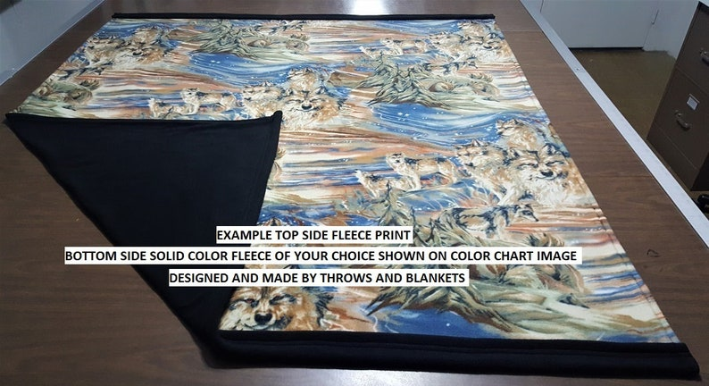 MADE TO ORDER Extra Large Throw sizes 56 x 62 or 56 x 86 Item # 354