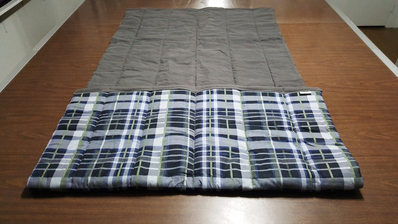READY TO SHIP Quilted Throw  size  40\u201d x 63\u201d    Item  #  153