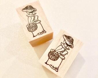 No.112: Mushroom Girl/ Designed by Krimgen