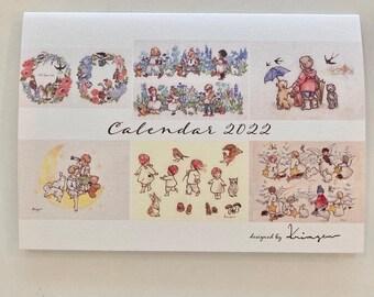 2022 Calendar- Designed by Krimgen