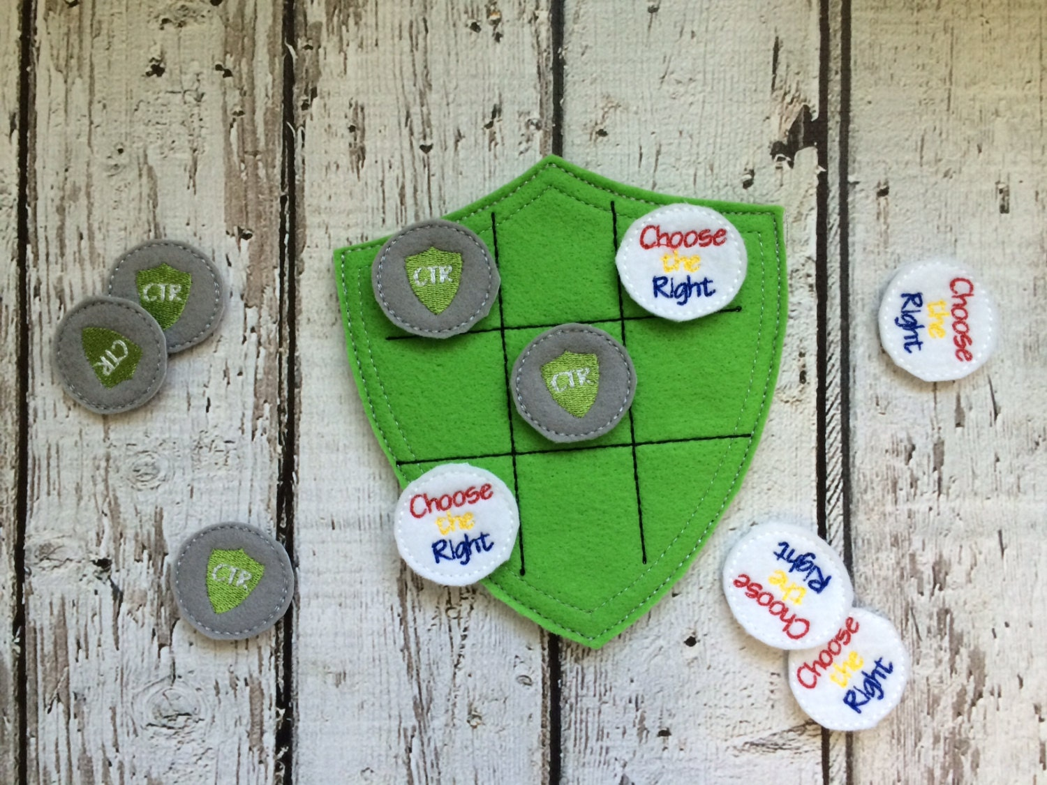 LDS Choose the Right Tic Tac Toe Kid Game Christmas Gift   Etsy