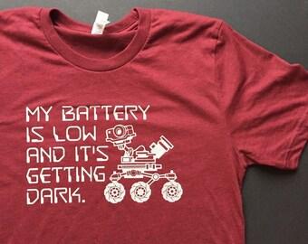 04e03a37f Mars Rover Space Memorial Shirt