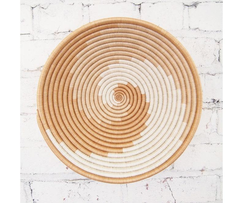 African Basket Sokoke // Rwanda Basket // Woven Basket // image 0