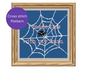 I Made This Spider Cross Stitch Pattern
