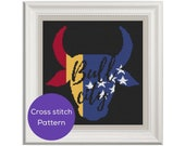 Bull City Cross Stitch Pattern