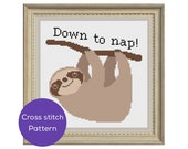 Nap Cross Stitch Pattern