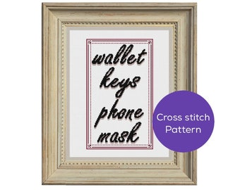 Don't Forget Cross-Stitch Pattern