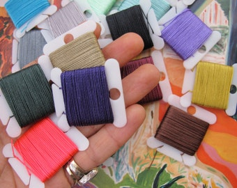 Strong Jewelry Making String Beading Cord DIY Colored Cording for Bracelets Necklaces Autumn Mala Thread Craft Macrame Nylon Beading Thread