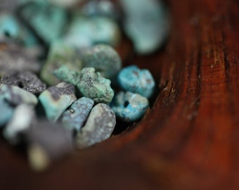 Genuine Turquoise Chip Beads Real American Turquoise Rustic Natural Turquoise Chips USA Turquoise Arizona Beads Rough Southwestern Turquoise