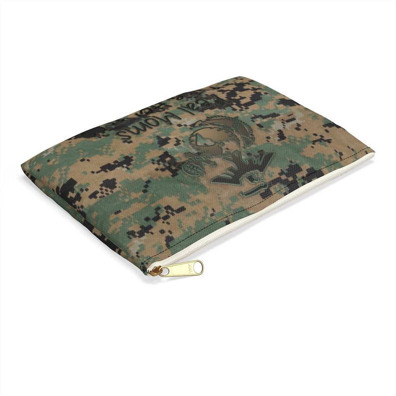 USMC Woodland Style Accessory Pouch for MOM